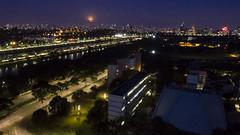 SP Aerial: Marginal Pinheiros (Gustavo Basso) Tags: 011 aerea aerial bluelight crepusculo dawn dji drone phantom3 saopaulo sp sãopaulo brasil