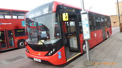 P1490299 1265 YX17 NWF CTNEW63 at Leytonstone Station Kirkdale Road Leytonstone London (LJ61 GXN (was LK60 HPJ)) Tags: hackneycommunitytransportgroup ctplus enviro200 enviro200mmc enviro200d enviro200dmmc e200d majormodelchange mmc 109m 10870mm 1265 yx17nwf g2701 ctnew63