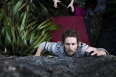 Look Me In the Eye (iluketina) Tags: climbing bouldering napier hawkesbay