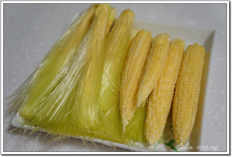 櫛瓜玉米筍~ (2)