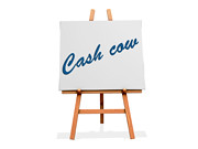 Cash Cow (One Way Stock) Tags: sign business note service product income marketshare cashcow revenuestream highdemand
