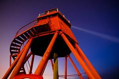 The Groyne Looking Up (solidtext) Tags: longexposure lighthouse night stairs river stars pier nightshot legs south bluesky tyne nightscene railings southshields groyne shields waroftheworlds darlek noctography tokina1116f28 nikond7000 noctographist