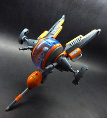 Pharaoh Z-Frame (SuperHardcoreDave) Tags: lego tech space future scifi weapons moc starfighter spacefighter