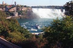 American Falls (Keith Coldron) Tags: canada water boat maidofthemist americanfalls canadinholiday2001