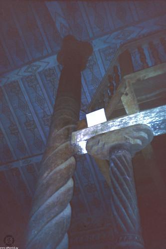 Wooden solomonic column