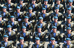 Alignment (Osdu) Tags: people man soldier russia military commando alignment victoryday russianarmy
