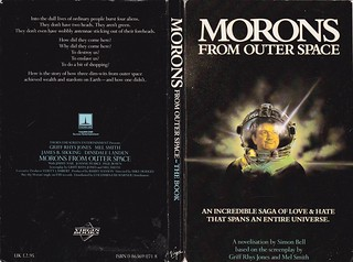 Simon Bell - Morons From Outer Space (Screenplay by Griff Rhys Jones & Mel Smith)