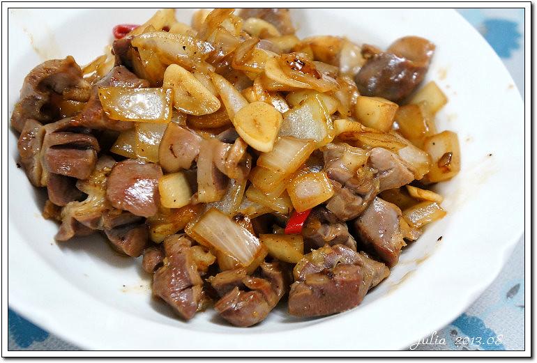 蒜炒雞胗 (5)