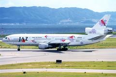 Japan Air Charter | McDonnell Douglas DC-10-40 | JA8539 | Super Resort Express livery | Osaka Kansai (Dennis HKG) Tags: plane airplane airport aircraft osaka jl kansai jaz jal kix dc10 japanairlines mcdonnelldouglas planespotting rjbb ja8539