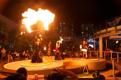 (rome_rome) Tags: japan night fire dance performance fireperformance firebandit