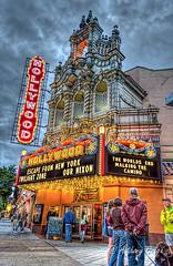 Hollywood Theater, Portland, OR (APGougePhotography) Tags: light oregon photoshop portland nikon theater or historic adobe hollywood tone hdr topaz lightroom photoshopelements photomatix tonemapped photomatixpro adobelightroom 2013 hdrsoft topazlabs hdrbrackets topazdenoise d5100 topazdetail topazclarity