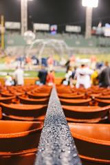 Field Level (scottmccracken) Tags: city longexposure rain boston baseball massachusetts redsox newengland event fenway fenwaypark alcs