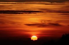 Across the sun... ON EXPLORE! (modestino68) Tags: sunset sun mountain clouds tramonto nuvole sole montagna keikomatsui