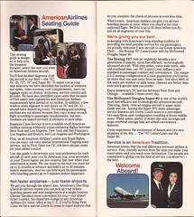 AAseatsJUL83 02 (By Air, Land and Sea) Tags: aa americanairlines aircraft airplane seats diagram seatingdiagrams airline seatingcharts
