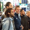 Zusi, Gonzalez, Besler, and Rimando watching the World Cup draw! #USMNT #MLSCup #WatchThis #SportingKC