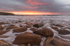 Crimson Sunrise - (Explored) (MBDGE) Tags: seascape sunrise orkney vision:sunset=0823 vision:outdoor=0898 vision:sky=0767 vision:ocean=0741 vision:clouds=0671