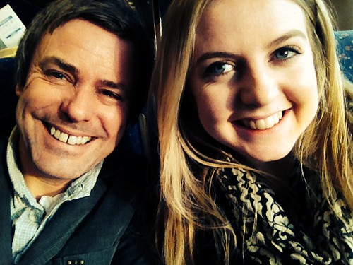 Dad & daughter London bound