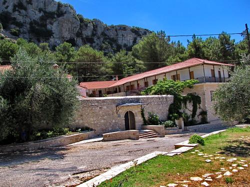 GREECE Agios Dimitrios Monastery and Zalongo Monument, Preveza, Epirus