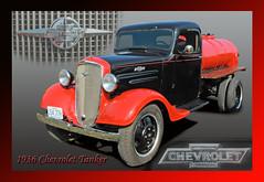 1936 Chevrolet Tanker (Brad Harding Photography) Tags: chevrolet truck 1936 riverside antique utility chevy missouri restoration 36 gmc tanker generalmotorscompany