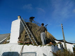 Thatching, Barrapol, Isle of Tiree - Shari MacKinnon
