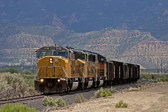 UP 2158 East Carbon Utah (Trevor Sokolan) Tags: railroad usa up america utah us branch diesel rail railway trains dirt unionpacific local railfan trainspotting emd gmd railfanning sd60m eastcarbon branchline