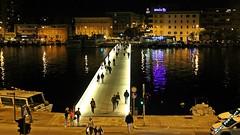 Zadar walking bridge (malioli) Tags: city town europe croatia zadar adriatic hrvatska adriaticcoast stonytown