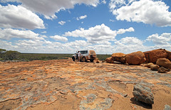A Fine Campsite (cowyeow) Tags: travel camping red nature landscape rocks desert offroad rocky australia wideangle wa outback geology westernaustralia campsite
