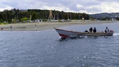Punta Lapa - Quelln (Sal Andrade) Tags: chile botes playa paisaje nave punta chilo martimo lapas quelln