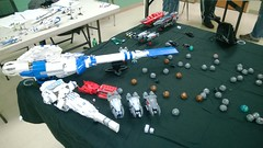 January 2014 Microfleet Game (YourCure) Tags: lego space battle gaming micro battleship fleet microspace microfleet