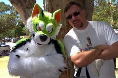 Having fun in the sun (Val in Sydney) Tags: day sydney australia fair nsw gras mardi australie
