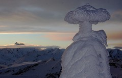 Rauhreif und Grossglockner (bergfroosch) Tags: rauris sonnblick kolmsaigurn wetterwarte sonnblickobservatorium bergratz bergfroosch