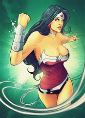 Wonder Woman ([ PJ ]) Tags: color amazon diana wonderwoman dccomics pinup illustation pjarts
