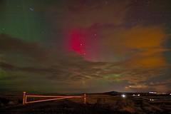 Aurora borealis (skolavellir12) Tags: autumn water night rebel lights iceland raw north norden aurora northern ísland borealis ísland norðurljós borialis