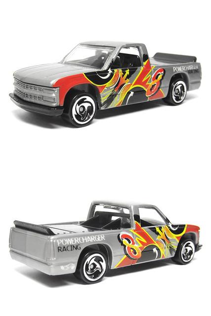 chevrolet truck grey chevy hotwheels 164 diecastcar chevy1500 chevroletck hotwheels5pack figure85pack