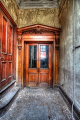 Gallery door (AuroraUK) Tags: door wood old uk light england heritage history clock window architecture stairs court justice oak peeling time antique secret military sheffield letters columns victorian police clocktower hidden prison crime urbanexploration porn empire murder law courts cogs cells derelict dereliction ue penitentiary incarceration urbexing