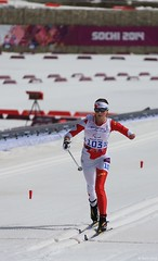 Paralympic Cross-Country Skiing Competitions (Sochi 2014 Winter Games) Tags: laura sledge sochi crosscountryski paralympic  shayba sochi2014 2014  winterparalympicgames  lauracrosscountryskiandbiathloncenter
