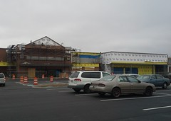 New main gable brick-up nearly complete (l_dawg2000) Tags: 2004 mississippi supermarket ms grocerystore grocery renovation remodel kroger 2000s southaven 2013 krogerfuelcenter krogershoppingcenter krogermilleniumstyle 2013remodel kroger2012decor