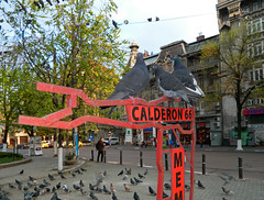 Rosetti Square, Bucharest (Carpathianland) Tags: street people architecture strada pedestrian scene romania pedestrians streetscape passerby bucuresti piata oameni bulevardul arhitectura strazi pietoni trecatori passerbies
