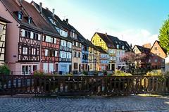 Colmar Colors (nic( o )) Tags: city france day maisons colmar clear alsace maison ville petitevenise lapetitevenise
