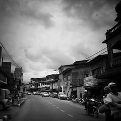 old border town (1davidstella) Tags: street clouds town samsung kelantan placesofinterest rantaupanjang
