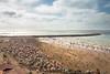 Rabat Beach (aminefassi) Tags: travel sea summer sky people copyright beach clouds canon landscape sand crowd social busy morocco maroc plage 海 humans costal rabat 人 6d 2015 ef2470mmf28 oudaia oudaya bouregreg aminefassi ef2470mmf28liiusm
