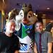 Scott Westerfeld, Chip and Toby, Goofy's Kitchen, Disneyland Hotel, Disneyland, Anaheim, Orange County, California, USA