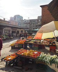 (Isabelle St-Germain) Tags: travel fruits vegetables living market lifestyle neighborhood local albania