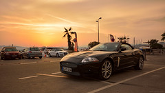Jaguar (Gikon) Tags: sunset sun car golden evening nikon glow jaguar sigma1020 d7100 gikon