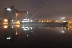 BBS Sky General Cargo Ship (Shane Casey CK25) Tags: bbs sky general cargo ship imo 9196266 callsign pebu mmsi 246486000 boat cork city quays under fog low light night time ireland irish quay port portofcork