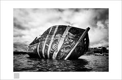 """new call of the wreck """"Misère et Corde"""" (Emmanuel DEPARIS) Tags: emmanuel deparis vieux gréments bretagne message last call cimetière cimetery boat épave wreck sea beach france lendormi"""