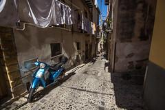 Cefalu 8 (gsamie) Tags: 600d canon cefalu guillaumesamie italy rebelt3i sicilia sicily city gsamie motorcycle street