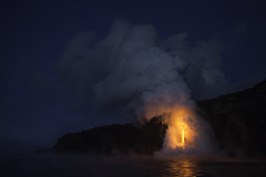 "Flow 61G, ""The Fire Hose"" lava stream. (www.studebakerstudio.com) Tags: 61g firehose fire hose lava hawaii landscape studebaker"