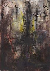 CE N'EST QU'UN CAUCHEMAR, 2017 (Marie Kappweiler) Tags: peintures paintings malerie art kunst kappweiler acryl kohle fusain charcoal colorpigments pigmentscolorés pigmente