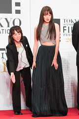 """Takanashi Rin from """"The Sowing Traveller 3"""" at Opening Ceremony of the Tokyo International Film Festival 2016"""